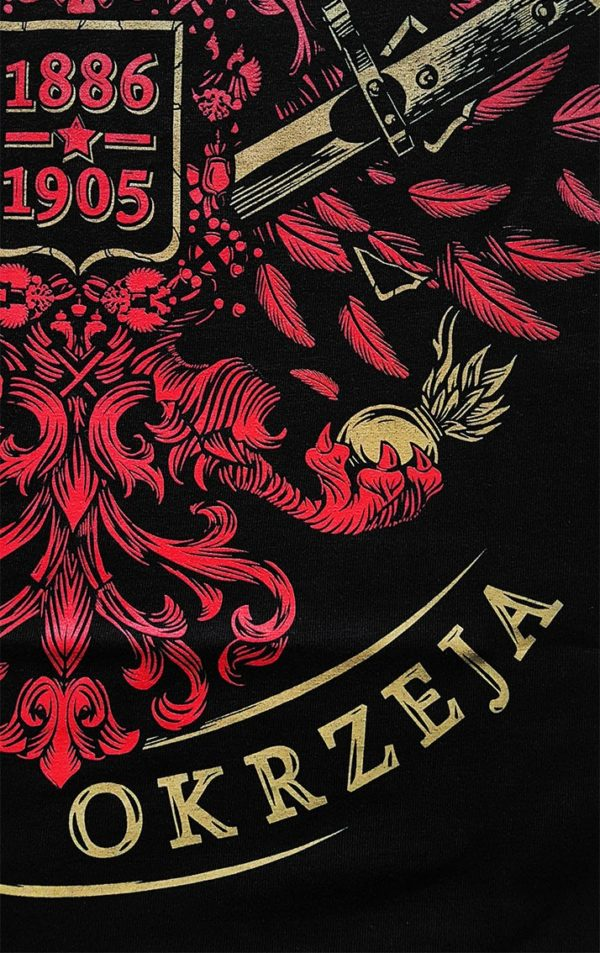 """Nadruk na koszulce zespołu The Analogs z nadrukiem """"Stefan Okrzeja"""". Koszulka poświęcona tematom takim jak: lewica, rewolucja w Polsce, historia, Stefan Okrzeja, bohaterstwo. Producent Oldschool Records - sklep z oficjalnym merchem The Analogs i innych zespołów z nurtu punk, streetpunk, oi. Koszulki zespołu The Analogs, bluzy The Analogs i inne."""