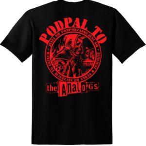 Koszulka The Analogs. Koszulka z czaszką, szkieletem, hasło: Podpal To. Sklep z oficjalnym merchem The Analogs i innych zespołów z nurtu punk, streetpunk, oi. Koszulki zespołu The Analogs, bluzy The Analogs i inne. Przypinki, naszywki, torby Analogos.