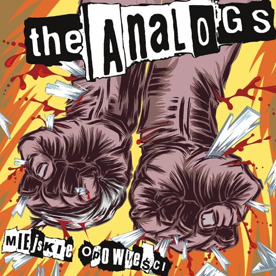 """Płyta The Analogs """"Miejskie Opowieści"""", rok wydania 2008 przez Jimmy Jazz Records. Gatunek polski punk, street punk, oi!"""