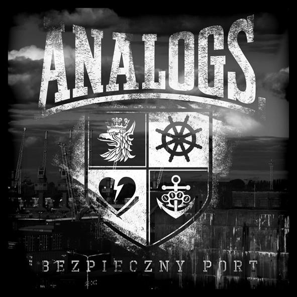 """Płyta cd The Analogs """"Bezpieczny Port"""", rok wydania 2014. Gatunek polski punk, street punk, oi!"""