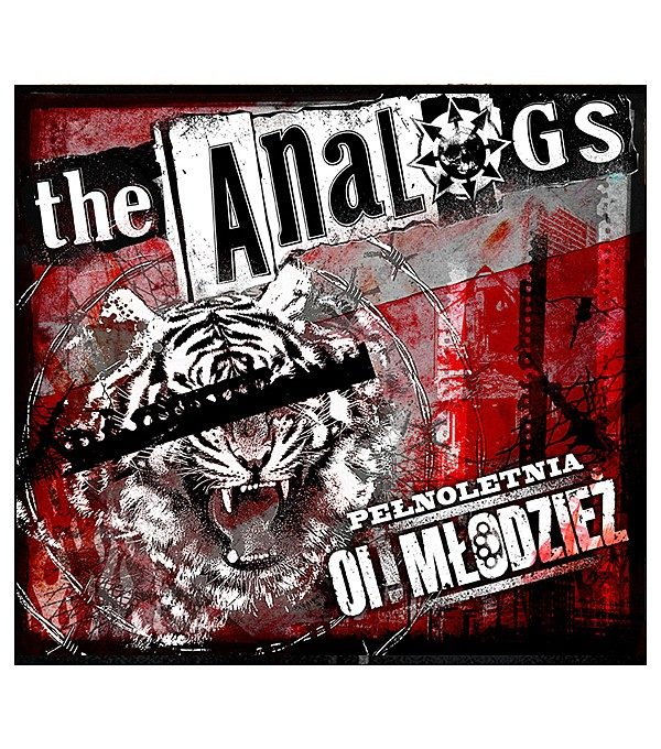 """Płyta cd The Analogs """"Pełnoletnia Oi! Młodzież"""""""", rok wydania 2012 przez Lou Rocked Boys. Gatunek polski punk, street punk, oi!"""
