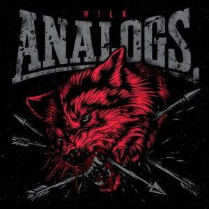 """Płyta The Analogs """"Wilk"""", rok wydania 2017 przez Oldschool Records. Gatunek polski punk, street punk, oi!"""