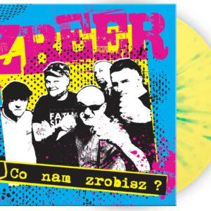 """Płyta winylowa Zbeer, """"Co nam zrobisz"""" wydana przez Oldschool Records. Gatunek muzyczny: punk, oi!, street punk. Polski punk, oi, silesia punk. Nowa płyta Zbeer z 2018 roku. Dodana do wydania pierwsza płyta Zbeer"""