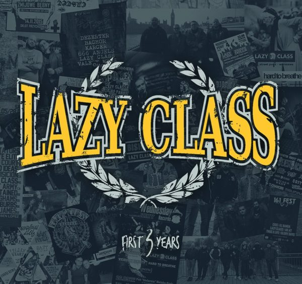 Lazy Class Firt 3 years, oi!, street punk from Warsaw